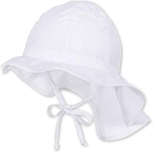 Lazzon Baby Mädchen Sonnenhut Sommer Outdoor Strandhut UV Schutz Schirmmütze mit Bindebändern für das Schwimmen im Freien, Reisen