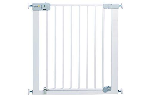 Safety 1st SecurTech Auto Cerrar Puerta de metal–blanco