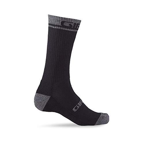 Giro Unisex– Erwachsene Winter Merino Wool Fahrradbekleidung, Black/Dark Shadow, L