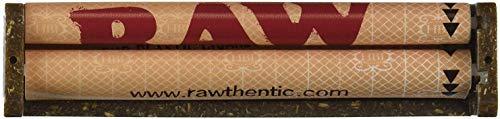 Rollingsupreme Rotolo in plastica di canapa da 110 mm, macchinetta per rullaggio sigarette, plastica, Brown, confezione da 1