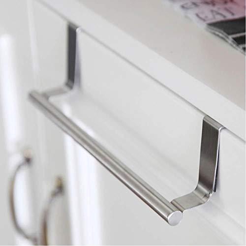 Preamer Stainless Steel Garbage Bagsfor Cabinet Door Kitchen Rack Towel Storage Hanging Holder