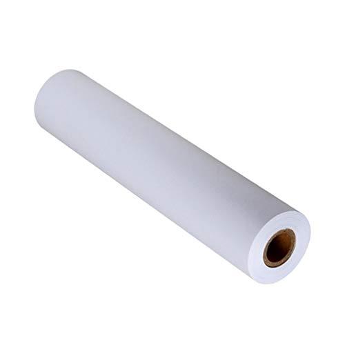 NUOBESTY Papel de Dibujo Blanco de 900X44 Cm 1 Rollo de Papel de Dibujo Rollo de Papel para Manualidades Y Manualidades Papel de Caballete de 9 M Papel de Pintura Profesional para Niños