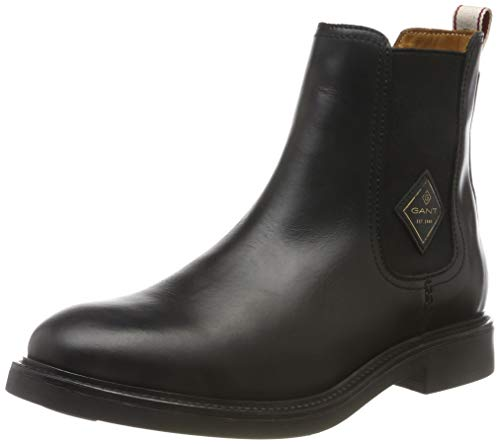 GANT Footwear Damen Ashley Chelsea Boots, Schwarz (Black G00), 40 EU