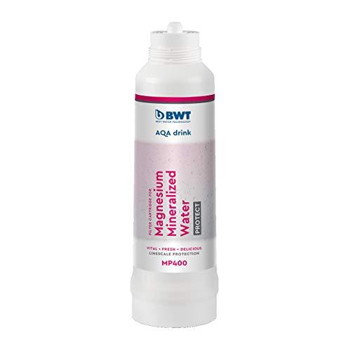 BWT AQA drink Filter MP400   Kalkschutz & mit Magnesium mineralisiertes Wasser   passt in alle AQA drink Filtersysteme   2.100 Liter Kapazität*