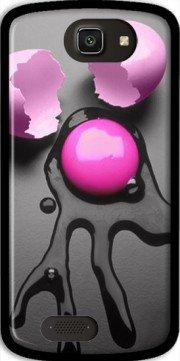 Mobilinnov Archos 50 Cesium Oeuf Rose Silikon Hülle Handyhülle Schutzhülle - Zubehor Etui Smartphone Archos 50 Cesium Accessoires