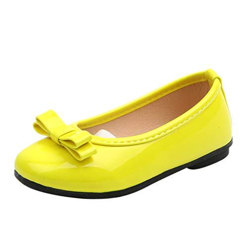 Zapatos de Baile de Tango Latino para Niños Bailarina Vestir Fiesta Arco Princesa Sandalias Rhinestone Lentejuelas Zapatitos de Tacón Bebé Niña Primavera Verano Zapatillas Niñas