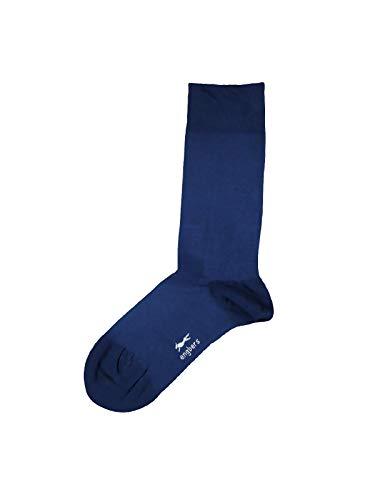 engbers Herren Bio-Baumwoll-Socken, 28343, Blau in Größe 46