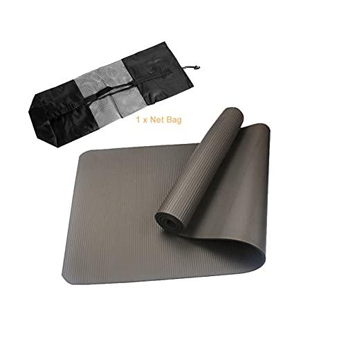 Alfombrilla de yoga plegable sin sabor NBR para ejercicios y ejercicios + correa + bolsa de red para gimnasio Clase de entrenamiento de gimnasia suministros