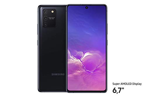 Samsung Galaxy S10 Lite (16.95 cm (6.7 Zoll) 128 GB interner Speicher, 8 GB RAM, Dual SIM, Android, prism Black) Deutsche Version
