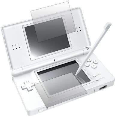 Slabo 2 x Displayschutzfolie für Nintendo DS Lite Displayschutz Schutzfolie Folie Crystal Clear KLAR