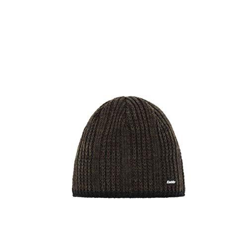Eisbär Herren Rene XL Mütze, schwarz/Trüffel, Einheitsgröße