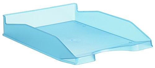 Dienblad tafel vloer glad doorschijnend blauw