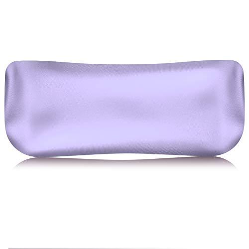 MoKo Lavendel Augenkissen, Cassia Samen & Lavendel Aromatherapie Augenmaske Yogakissen Tragbar Kissen Augenschutz für Meditation Entspannung Stressabbau Kopfschmerzen - Violett