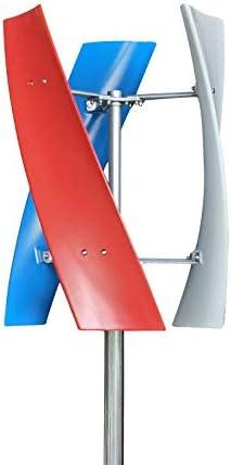 Wind Turbine Generator Kit 12V 24V 400W 3 Blade Portable Vertical Helix Wind Power Turbine Generator product image
