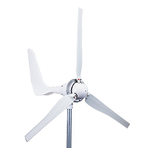Automaxx Windmill 1500W 24V 60A Wind Turbine Generator kit. Automatic and Manual Braking System DIY Installation, MPPT Controller with Bluetooth Function
