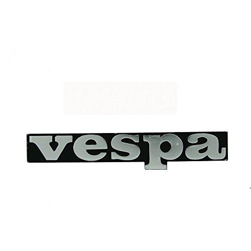 'Vespa' Lettering Black for Leg in Badge Emblem Vespa PK 50–125