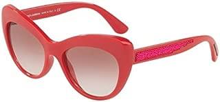Dolce & Gabbana Cat Eye Women'S Sunglasses - 6110 3097/8D -52-18 -140 Mm - Pink