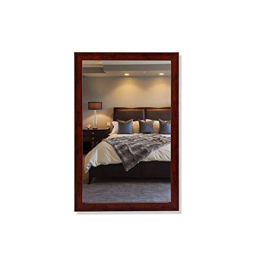 YUXIwang Makeup Mirror Square Cosmetic Mirror, Bathroom Mirror Wall Mount with Border Toilet Mirror, 50 * 70cm