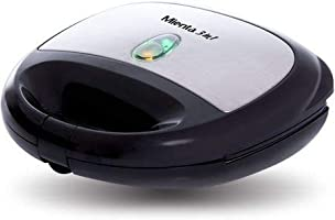 Mienta SM27409A Sandwich Maker Grill, Toast and Waffles, Black
