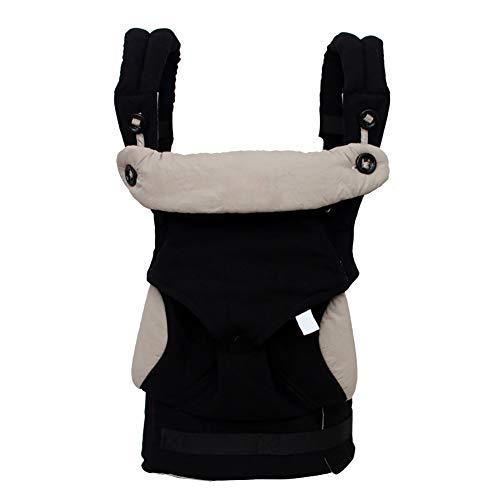 Mochila Portabebes,correa de hombro ajustable y transpirable Cadera del asiento de la cadera Mochila segura para recién nacido a Toddle de 0 a 36 meses (negro)