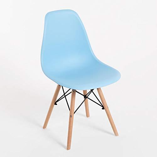 Regalos Miguel - Sillas Comedor - Silla Tower Basic - Azul Claro - Envío Desde España
