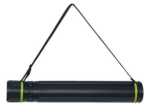 Linex Teleskop Zeichen-Rolle, 75-135 cm, Transport-Köcher mit Tragegurt