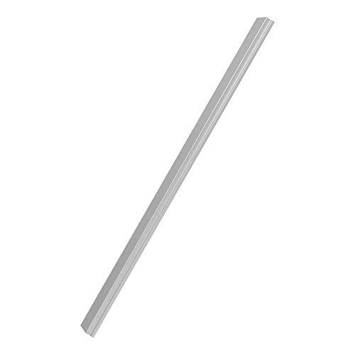 Losa deslizante de barra en T, aleación de aluminio Ranura en T de riel en inglete Losa deslizante no porosa Herramienta de carpintería para enrutador, sierras de cinta, prensas de perforación(450mm)
