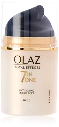 Olaz Total Effects SPF 30 - Crema idratante anti-età 7 in 1, 50 ml