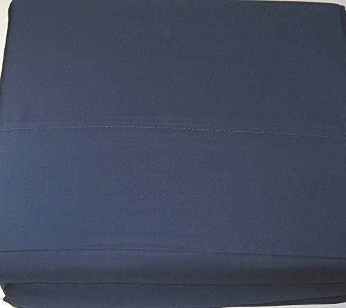 Lauren Ralph 4 Pc. Full Size Cadet Blue Dunham Sateen Sheet Set 100% Cotton