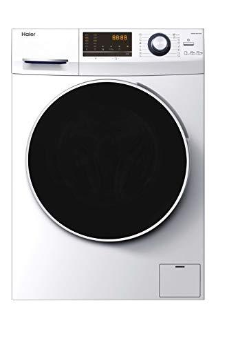Haier HWD90-BP14636-S - Lavadora secadora 9 kgs + 6 kgs secado, 1400rpm,...