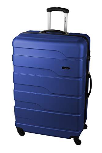 Skyflite Vitesse 88cm Hardshell Four Wheel Spinner Suitcase Black