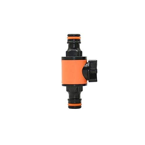 MINGMIN-DZ Dauerhaft Gartenschlauch Tap 1/2 Car Wash Hose Tap Schnellkupplung Bewässerungsventil Miniatur-Ventil Cranes Wasserarmatur 10pcs (Color : Orange)