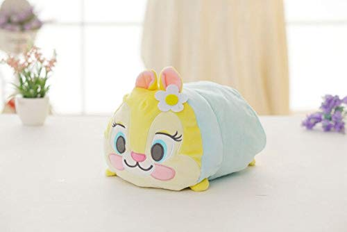 Wc-asdcc Soft Cartoon Daisy Dumbo Plush Toy Cushion Stuffed Cute Pillow For Kids Appease Toy Baby'S Room Decoration Yellow