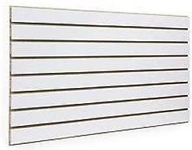 10x Slatwall//Slatboard grey panels 4ft x 4ft with free inserts