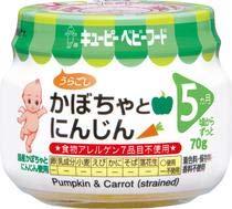 QP キユーピー 離乳食 かぼちゃとにんじん 70g 24個 (12個×2箱) ZHT