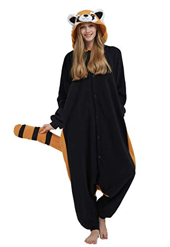 DELEY Unisexe Animal Adulte Vêtements De Nuit Chaude Onesies Pyjama Cosplay Homewear Anime...