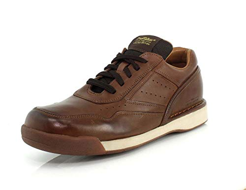 Rockport Mens M7100 Prowalker Limited Edition Walking Classic Dark Brown Burnished Leather Sneaker - 10.5 W