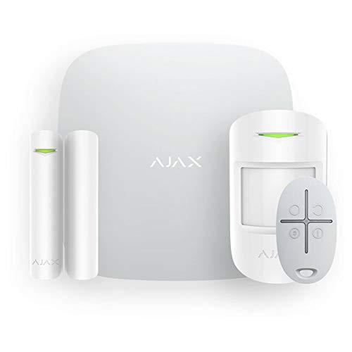 Kit de Alarma inalámbrica para casa AJAX gsm manejable Mediante aplicación antijammer