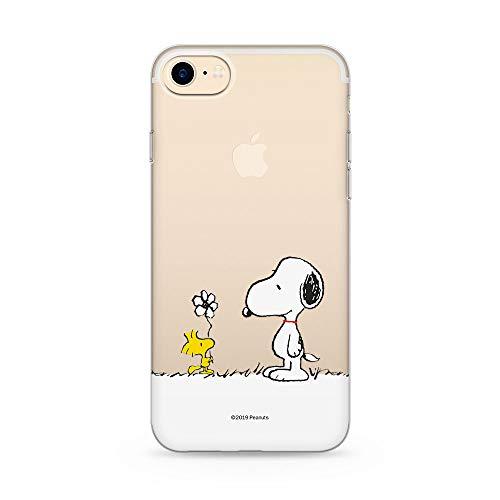 Original und Offiziell Lizenziertes Snoopy Handyhülle für iPhone 7,iPhone 8, iPhone SE2, Case, Hülle, Cover aus Kunststoff TPU-Silikon, schützt vor Stößen und Kratzern