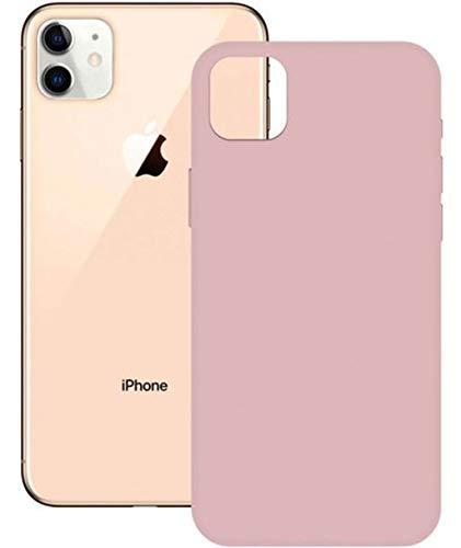 Carcasa Soft Silicone KSIX para iPhone 12 Pro MAX Rosa