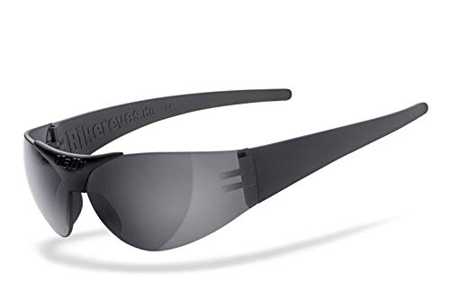 HELLY® - No.1 Bikereyes® | Sonnenbrille: super dark | beschlagfrei, winddicht, bruchsicher | Brille: moab 4