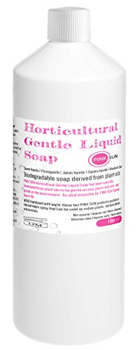 PINK SUN Jabón Líquido Para Horticultura 1 Litro Horticultural Gentle Liquid Soap 1 Litre (1000ml) Uso con Aceite de Neem Orgánico 1L