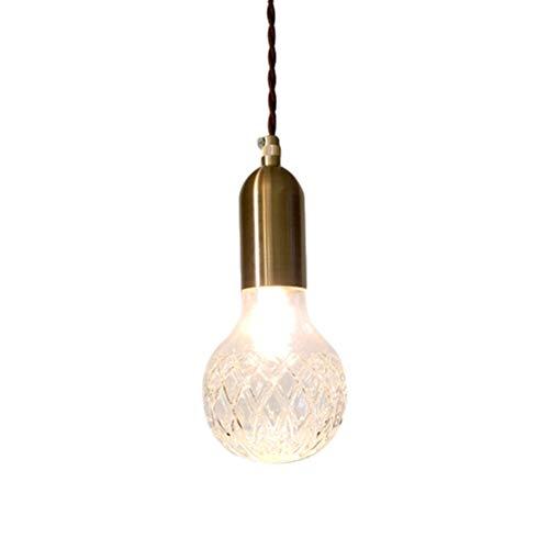 Mobestech – Lámpara Colgante con diseño de piñas, Vintage, lámpara de Techo para casa, Dormitorio, Fiesta, decoración (luz cálida)