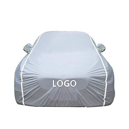 Personnalisez NImporte Quel Mod/èle Housses Pour Auto Voiture Compatible Avec Audi Q3//Q5 Hybrid//Q7 e-tron quattro//Q8//SQ5//e-tron Etanche Tissu Oxford Garage Respirant Housse Protection Pare-Brise