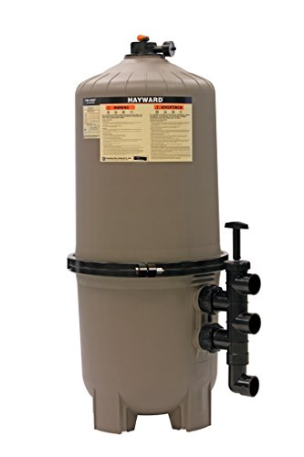 Hayward DE7220 ProGrid D.E. Pool Filter, 72 Square Foot, Vertical...