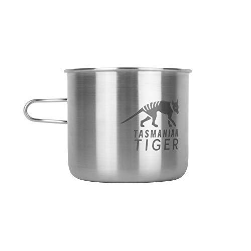 Tasmanian Tiger TT Handle Mug 500 - Die perfekte Outdoor und Camping-Tasse, Edelstahl-Becher, 500ml, kompatibel mit Nalgene Weithals 1L und TT Bottle Holder