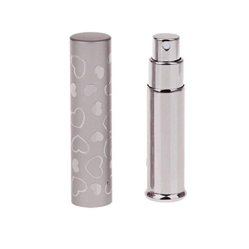 7ml Vaporisateur Atomiseur de Parfum Vide Flacon Recharge Portable - Café