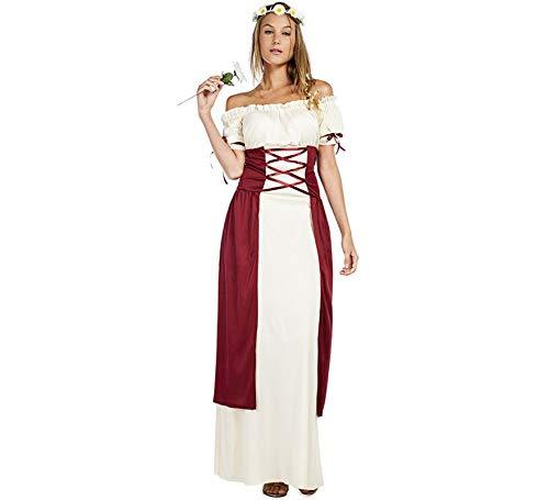 Car&Gus Disfraz de Medieval Festival para Mujer