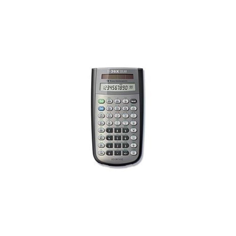 不健康ピアニストアイデアTexas Instruments TI-36X Solar Scientific Calculator [並行輸入品]