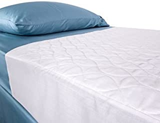 Saddle Style Absorbent Bed Pad with Tuck in Sides (34 x 36 Inch) - Waterproof and Washable 300x for Incontinence Tuckable Underpad (Crib and Twin) - for Baby, Child, Adult - Sequoia Health